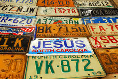Jesus plate Stock Photos