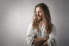 Jesus. The portrait of Jesus Christ Stock Images