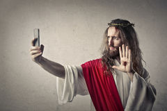 Jesus' portrait Royalty Free Stock Image