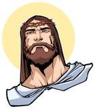 Jesus Portrait Illustration Immagini Stock Libere da Diritti