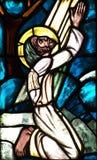Jesus praying. A photo of Jesus praying Royalty Free Stock Images