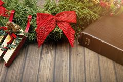 Jesus is the Reason for the Season. Christianity and Christmas royalty free stock photo