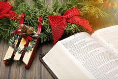 Jesus is the Reason for the Season. Christianity and Christmas Stock Images
