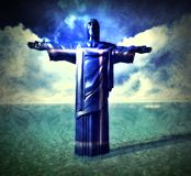 Jesus the Redeemer Stock Images