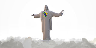 Jesus redemeer Royalty Free Stock Photo