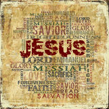 Jesus Religious  background Royalty Free Stock Photos