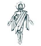 Jesus Resurrection b Royaltyfria Foton
