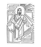 Jesus Resurrection c Arkivbilder