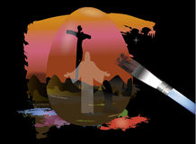 Jesus Resurrection Royalty Free Stock Images