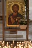 Jesus's  icon. Royalty Free Stock Photos