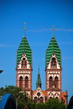 Jesus Sacred Heart Church, Freiburg in Breisgau Royalty Free Stock Images