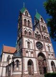 Jesus Sacred Heart Church, Freiburg in Breisgau Royalty Free Stock Image