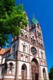 Jesus Sacred Heart Church, Freiburg in Breisgau Stock Photos