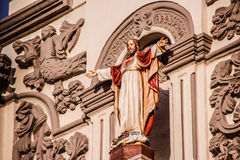 Jesus Sacred Heart i den Monterrey domkyrkan Royaltyfria Foton