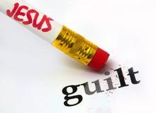 Jesus - schuld royalty-vrije stock foto