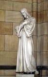 Jesus sculpture. In Prague church of saint Vita Stock Images