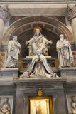 Jesus sculpture , Vatican, Italy Royalty Free Stock Images