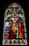 Jesus Stained Glass Royalty Free Stock Photo