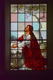Jesus Stained Glass Royalty Free Stock Photography