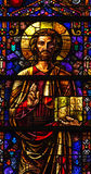 Jesus stained glass Royalty Free Stock Photos