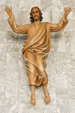 jesus statua Obrazy Royalty Free