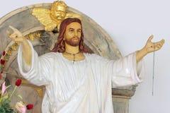 Jesus-Statue Lizenzfreies Stockfoto