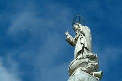 Jesus Statue. With sky Stock Photos
