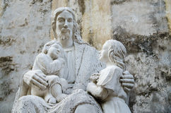 Jesus statue Royalty Free Stock Images