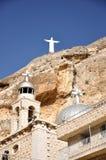 Jesus Statue em Maaloula Fotos de Stock
