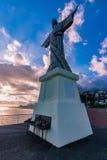 Jesus statue, Madeira stock image