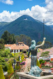 Jesus Statue on Monserrate Stock Image