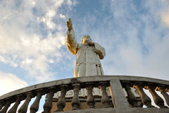 Jesus statue in Nicaragua Stock Photos