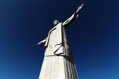 Jesus Statue in Rio De Janeiro Brazil Corcovado Mo Royalty Free Stock Photos