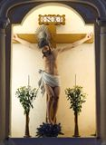 Jesus statue in St. Dominic's Chruch, Macao Stock Images