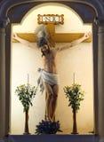 Jesus-Statue in Str. Dominic Chruch, Macao Stockbilder