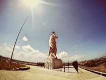 Jesus Statue, vieille Havana Cuba photo stock