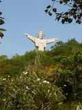 Jesus Statue - Vietnam, Vung Tau. Christ of Vung Tau is a statue of Jesus, located on Mount Nho in Vung Tau, Ba Ria-Vung Tau Province, Nam Bo, Vietnam. It was Stock Photos