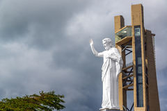 Jesus Statue View grande Foto de archivo