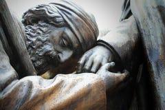 Jesus staty Royaltyfria Foton