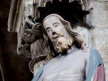 Jesus staty Arkivbild