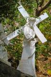 Jesus staty Arkivfoto