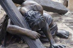Jesus stierf voor ons royalty-vrije stock fotografie