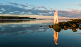 Jesus By Still Waters Stock Photography