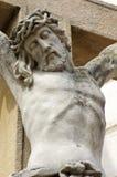 Jesus stone detail Royalty Free Stock Photos
