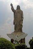 Jesus stone sculpture Stock Image