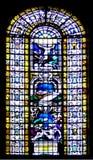 Jesus su una finestra Immagini Stock