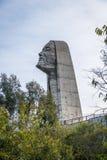 Jesus Terceiro Milenio Third Millennium Jesus Monument - Caxias gör Sul, Rio Grande do Sul, Brasilien Arkivfoto