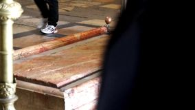 Jesus tomb stock footage