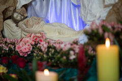 Jesus Tomb. Royalty Free Stock Photography