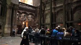 Jesus tomb stock video footage